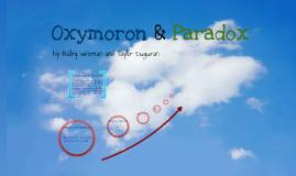 Copy of Copy of Oxymoron & Paradox