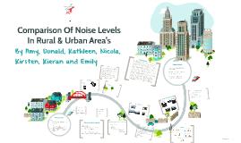 Copy of Comparison Of Noise Levels