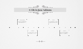Copy of A Life in Jane Addams
