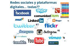 Redes sociales definición y usos