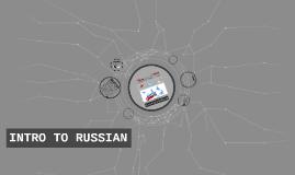 Copy of Russian Intro