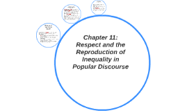 Chapter 11: Respect and the Reproduction of Inequality in Po