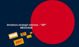"Struktura strategii reklamy - ""6M"""