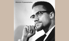 Malcolm X was an African American civil rights activist.