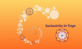 Inclusivity & Yoga