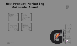 New Product Marketing