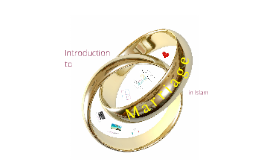 Introduction to Marriage in Islam