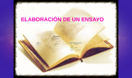 Copy of ELABORACION DE UN ENSAYO
