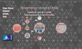 Governança Global e ONGs