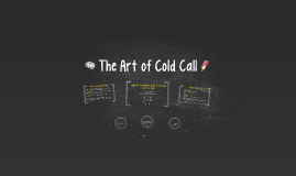 Cold Call and No Opt Out