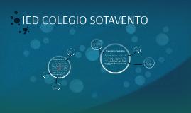 IED COLEGIO SOTAVENTO