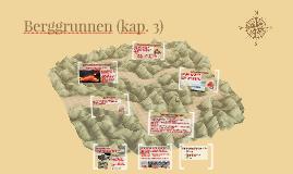 Berggrunnen (kap. 3)