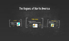 The Regions of North America