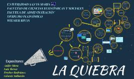 Expo La Quiebra Eq. 5 Derecho Economico