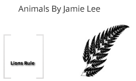 Jamie-Lees Animal Prezi