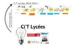 Ci'T lycés 2013-2014