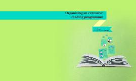 Organizing an extensive reading programme