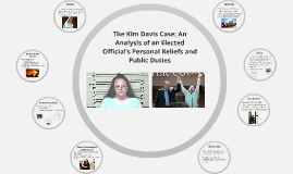 Kim Davis Case: An Analysis of an Elected Official's Persona