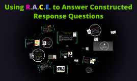 Copy of Using the R.A.C.E. Technique to Answer Constructed Response