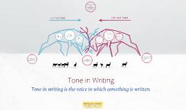 Copy of Formal v Informal Tone in Writing
