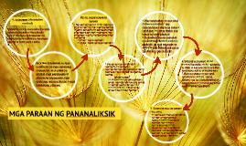 Copy of MGA PARAAN NG PANANALIKSIK