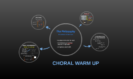 Choral warm up