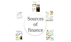 Sources of finance supplementary notes