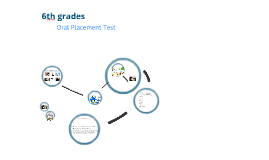 Copy of 6th grade Oral Placement Test