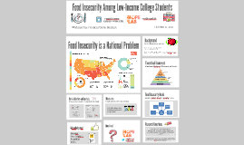Food Insecurity Among Low-Income College Students