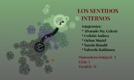 Copy of LOS SENTIDOS INTERNOS