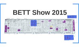 BETT Show 2015