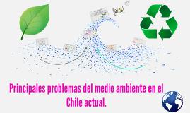 Principales problemas del medio ambiente en el