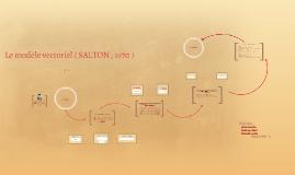 Modèle vectoriel ( Salton)