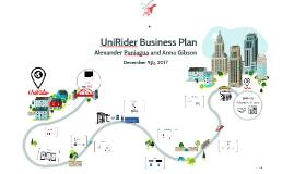 UniRider Business Plan