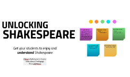 Unlocking Shakespeare