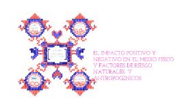 Copy of EL IMPACTO POSITIVO Y NEGATIVO EN EL MEDIO FISICO Y FACTORES
