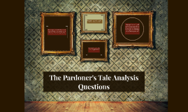 compare and contrast pardoners tale and