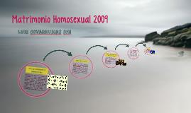 Matrimonio Homosexual 2009