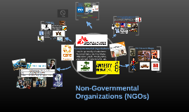 Non-Governmental Organizations (NGO's)