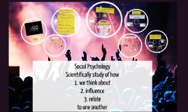 Copy of Social Psychology