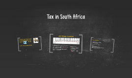 Tax in South Africa