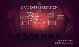 Copy of ORAL INTERPRETATION