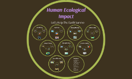 Human Ecological Impact