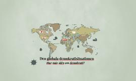 Demokratisituationen i världen