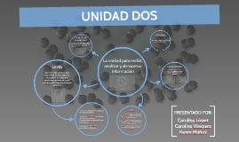 Copy of La unidad para recibir, analizar y almacenar información