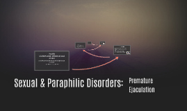 Sexual & Paraphilic Disorders