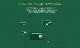 PROTOTIPO DE TOMA USB