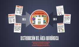 DISTRIBUCIÓN DEL ÁREA QUIRURGICA
