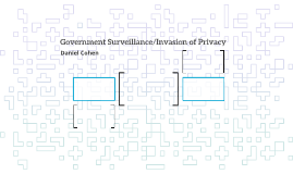 Government Surveillance/Invasion of Privacy