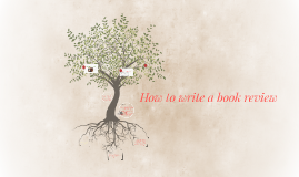 How to write a book review !